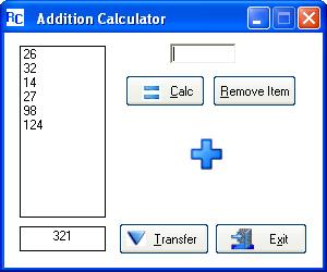 Addition Calculator