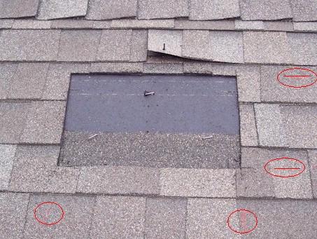 Dormer vent mark roof