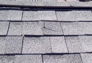 Nail thru roof