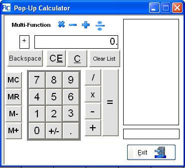Multi Function calculator