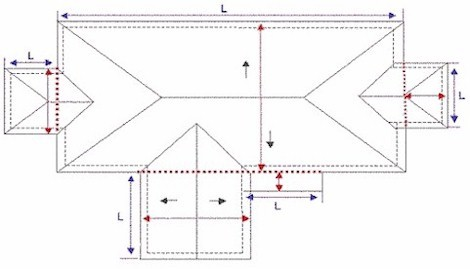 How To Measure A Roof And Determine Squares Of Materials