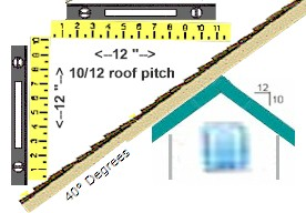 10 12 roof pitch for What is a 4 12 roof pitch