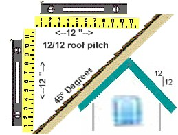 5/12 roof pitch deatails