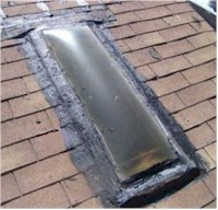 Replace Roof Mount Skylight With Curb Mounted Skylight