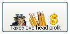 taxes, overhead,profit