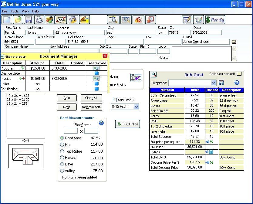 Create A Roofing Work Order Roofgenius Com