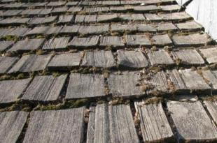 aluminum versus wood shake roof