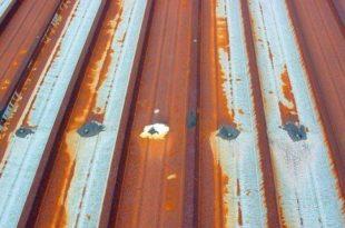 metal roof repair sample