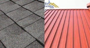 metal roof vs asphalt shingles