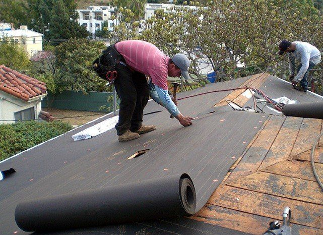 Rubber roofing materials
