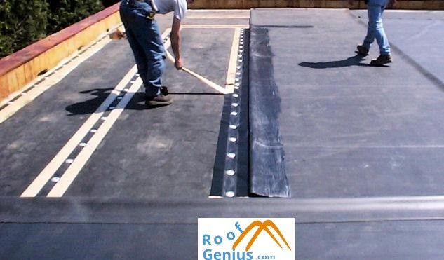 commercial roof install service