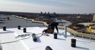 Flat Roof Repair. Materials and Option to Choose From.