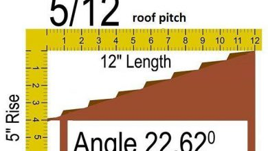 Photo of 5/12 Roof Pitch