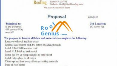 Photo of Roofing Custom proposal writing software
