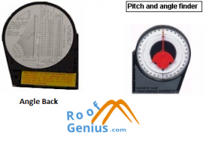 Roof Pitch and Angle finder