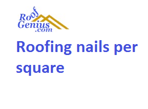 Photo of Roofing nails per square