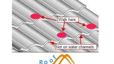 Photo of How to Walk on a Tile Roof