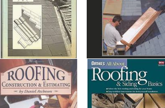 Photo of Books on roofing and home improvement