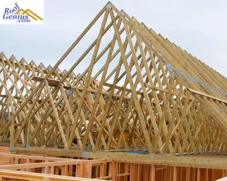 The Importance Of Roof Trusses Roofgenius Com