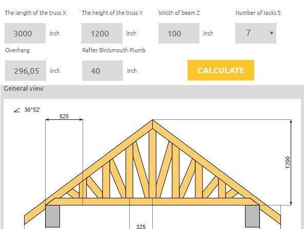 What Is Roof Truss Calculator Roofgenius Com