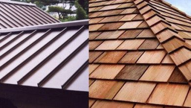Photo of Aluminum versus Wood Shake Roof