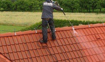 Photo of Cleaning of Roof Shingles – Going about it