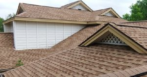 Composition shingle roofing