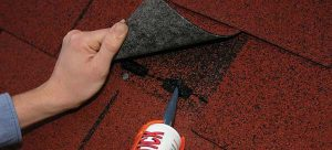 how to replace roof shingle-glue