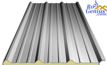 Photo of Different types of metal roofing