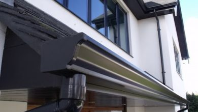 Photo of Aluminum Gutters