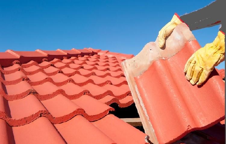Clay Tile Shingle install
