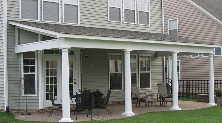 How Build Porch Roof