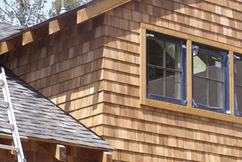 Cedar and wood Shingles